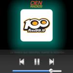 Aplicación para escuchar online radio 100